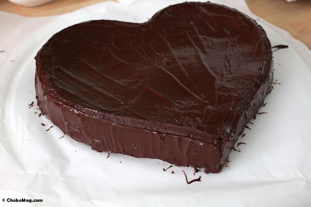 gateau au chocolat avec glacage. Black Bedroom Furniture Sets. Home Design Ideas