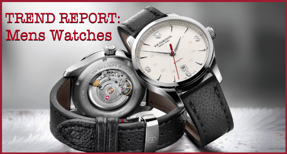 Trend Report Mens Watches