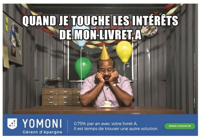 yomoni publicité